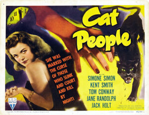 Cat-people-Simone-Simon-vintage-movie-poster-print