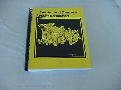 Continental Engines Carburetors Overhaul & Parts Manual -18