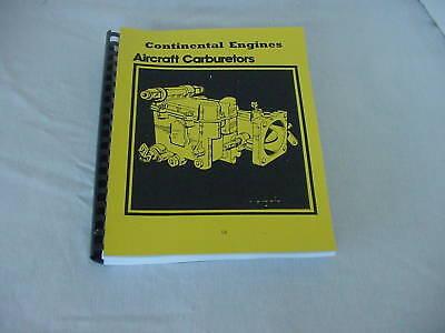 Continental Engines Carburetors Overhaul & Parts Manual -18