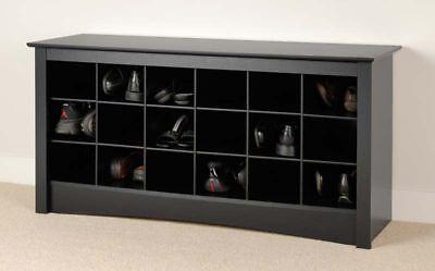 Sonoma Shoe Cubbie Storage Bench For Entryway Mudroom Ebay
