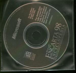 MS-Microsoft-Encarta-98-Encyclopaedia-RARE-Original-Unused-Clearance-Windows