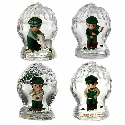 Hamilton Collections,  Luck Of The Irish In The Palm Of His Hand 4pc Figure.