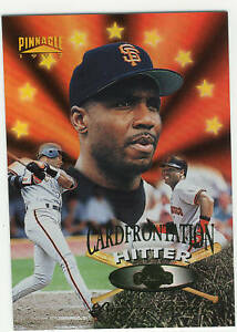 1997-PINNACLE-12-BARRY-BONDS-CARDFRONTATION-GIANTS