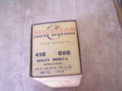 1933-1967 Willys 4cyl .060 main bearing set