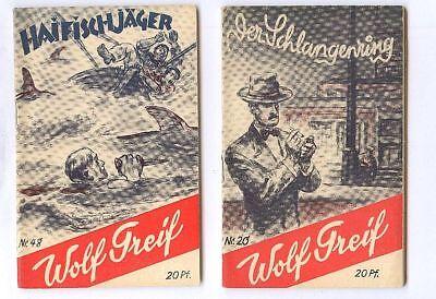 Wolf Greif Original 1939 Nr 1-58 fast kpl Top Zustand