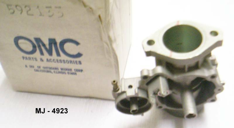 Outboard Marine Corporation - Aluminum Carburetor Body - OMC P/N: 529133 (NOS)