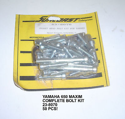 Yamaha 650 Maxim Complete 50 Pc Allen Bolt Kit 23-8070