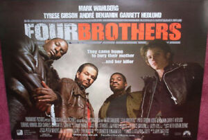 Cinema-Poster-FOUR-BROTHERS-2005-Advance-Quad-Mark-Wahlberg