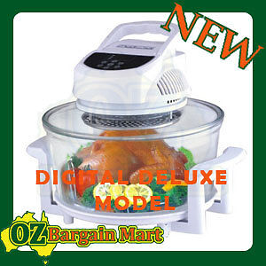 DIGITAL-17L-CONVECTION-OVEN-MICRO-WAVE-INFRARED-HALOGEN-TURBO-FLAVOR-FAN-COOKER