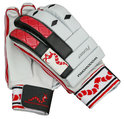 Woodworm Pioneer Cricket Batting Gloves, Various Sizes, Rrp £30