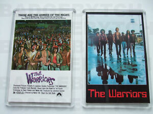 THE WARRIORS PAIR OF MOVIE POSTER FRIDGE MAGNETS