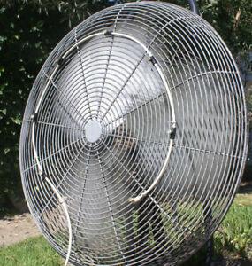 Misting Fan - 7 Nozzle water mister - US Made - w/o Fan