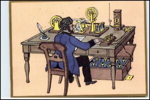 Post-Postwesen-Postkarte-Telegraphenbuero-anno-1863-AK