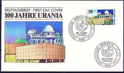 Berlin 1988: Urania 100 Jahre! FDC der Nr. 804! Gut erhalten! 1711