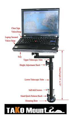 COMPUTER LAPTOP NETBOOK MOUNT TABLE DESK STAND HOLDER TRUCK CAR SUV VAN STAND