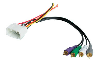 Bose Premium Sound Integration System Radio Wire Wiring Harness Cable W/ Amp