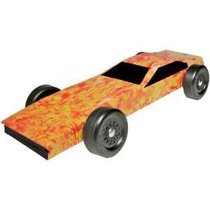 image is loading pinewood derby car fire starter body skin