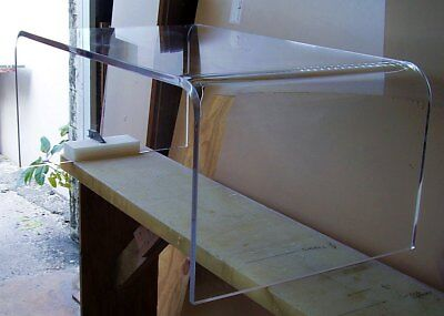 Acrylic coffee table lucite 40 x 24 x18 high ebay for Coffee tables 24 high
