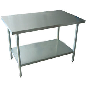 New-Stainless-Steel-Work-Prep-Table-30-x-30-NSF
