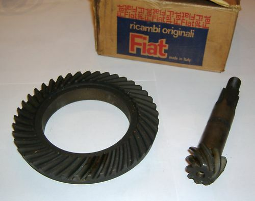 FIAT 500 C - TOPOLINO/ COPPIA CONICA/ BEVEL GEAR PINION SET
