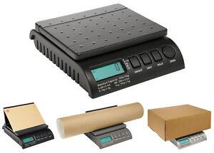 DIGITAL-16kg-Postal-Postage-Parcel-Scales-BLACK-New-0-1kg-2g-1-16kg-5g