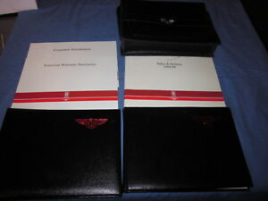 1989-BENTLEY-8-EIGHT-OWNERS-MANUAL-OWNERS-SET-CASE