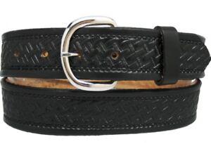 Men-039-s-New-Leather-Western-Belt-46-48-50-52-54-56-58-60
