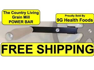 Country-Living-Grain-Mill-Power-Bar-Handle-NEW