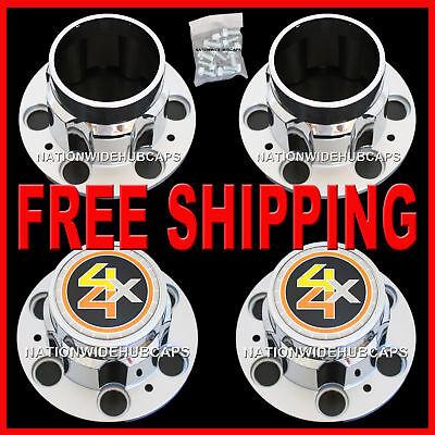 Chevy Gmc 4x4 6 Lug 15x8 15 Truck Rally Wheel Center Hub Caps Bolt On Hubs 4wd