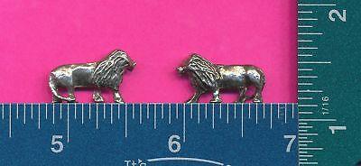 20 Wholesale Lead Free Pewter Lion Figurines M11069
