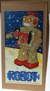 MACHINE-GUN-ROBOT-CLASSIC-50s-60-RETRO-TIN-TOY-ROBOT