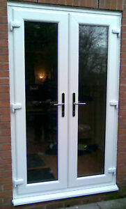 upvc 1800 2100 french door supplied fitted only