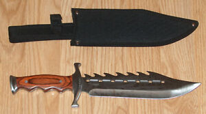 Bowie-Knife-with-Reverse-Serrations-knives-dagger-sword