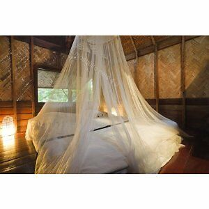 Mosquito-Net-Double-King-Size-Bed-White-Canopy-No-Bites
