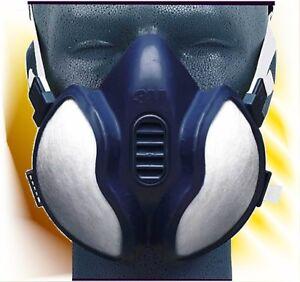 3m atemschutz maske einweg lackiermaske a2 p3 06942 ebay. Black Bedroom Furniture Sets. Home Design Ideas