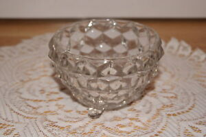 VINTAGE-FOSTORIA-AMERICAN-GLASS-SM-FOOTED-BOWL