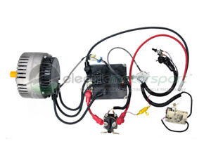 Electric marine drive kit inboard outboard conversion ebay for Electric outboard motor conversion
