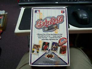 1991-Upper-Deck-Baseball-Waxpacks-Box-of-36-3-D-Card