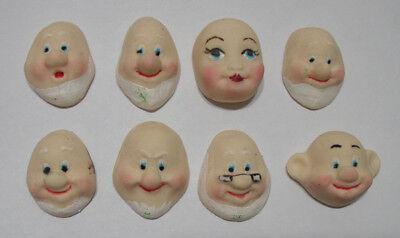 Faces/big/sugarcraft/cold Porcelain/clay/various
