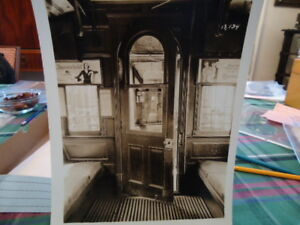 orig 1930s nyc new york city subway car interior photo. Black Bedroom Furniture Sets. Home Design Ideas