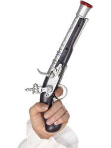 Pirate-Fancy-Dress-Pistol-Plastic-Accessory-30cm-Toy-Gun-By-Smiffys-New