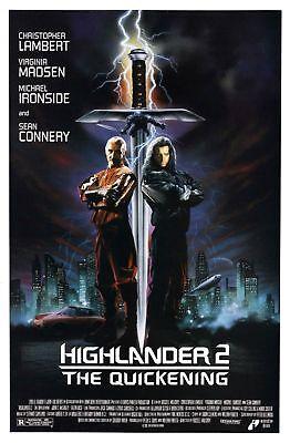Highlander 2: The Quickening - Original Movie Poster