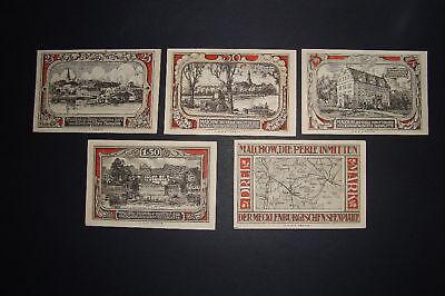 Notgeld Stadt Malchow in Mecklenburg Banknotes Germany (005)