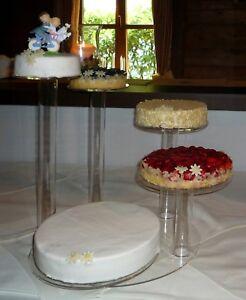 Luxus Design Tortenst Nder Hochzeit Etagere 5 St Ckig Kuchenst Nder Plexiglas Ebay