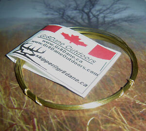 Rabbit-SNARE-WIRE-HEAVY-DUTY-Brass-25t-7-62m