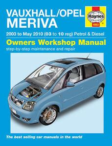 Haynes-Workshop-Manual-Vauxhall-Opel-Meriva-03-to-10