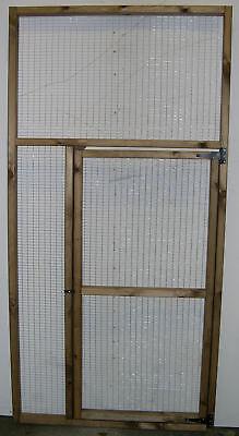 6' x 3' Door Aviary Panel 1