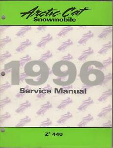 1996 ARCTIC CAT SNOWMOBILE Z  440  SERVICE MANUAL NEW  free delivery and returns