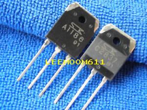 10 X 2SC2837 +10 X 2SA1186 SANKEN AUDIO AMP Transistors