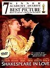 Shakespeare in Love (DVD, 1999)